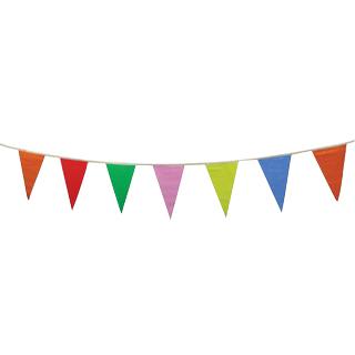 彩旗 三角形, 5色(有8包现货)