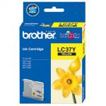Brother LC37Y 噴墨 Ink Cartridge 黃色