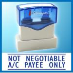I.Stamper N02A 原子印 NON NEGOTIABLE A/C PAYEE ONLY (清貨, 尚有1個)