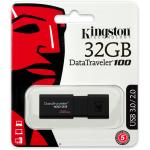 Kingston 32GB DataTrayeler 100 標準型 USB3.0/ 2.0